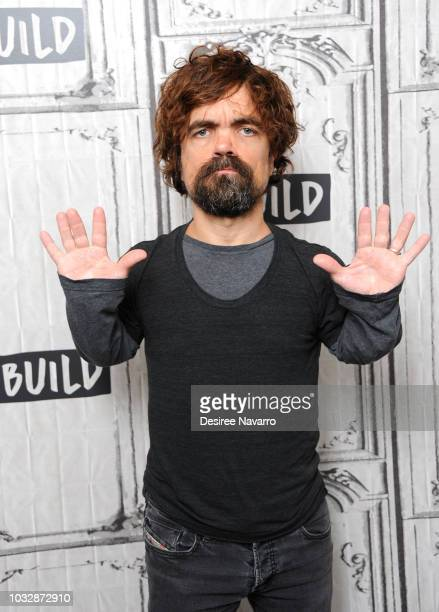 Actor Peter Dinklage visits Build Series to discuss the film 'I Think We're Alone Now' at Build Studio on September 13, 2018 in New York City.