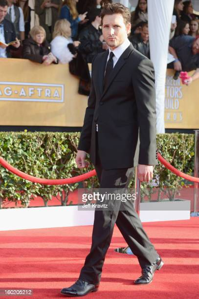Actor Peter Facinelli arrives at the 19th Annual Screen Actors Guild Awards held at The Shrine Auditorium on January 27 2013 in Los Angeles California