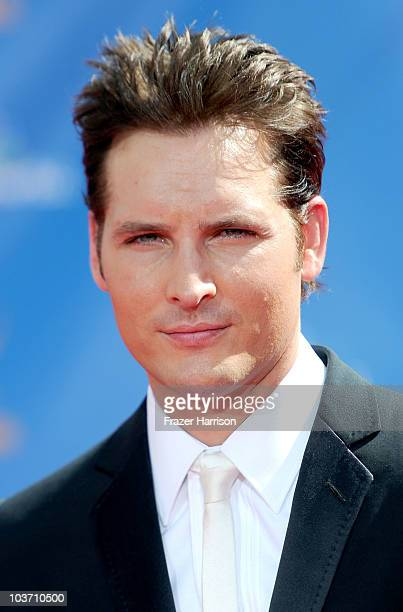 Actor Peter Facinelli arrives at the 62nd Annual Primetime Emmy Awards held at the Nokia Theatre LA Live on August 29 2010 in Los Angeles California