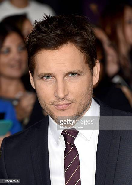 Actor Peter Facinelli arrives at the premiere of Summit Entertainment's 'The Twilight Saga Breaking Dawn Part 2' at Nokia Theatre LA Live on November...