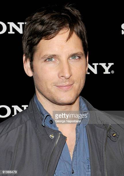 Actor Peter Facinelli attends a celebration for the new Sony VAIO products at Guastavino's on October 7 2009 in New York City