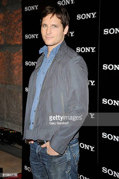 Actor Peter Facinelli attends a launch celebration for three new VAIO products and the Windows 7 operating system at Guastavino's on October 7 2009...