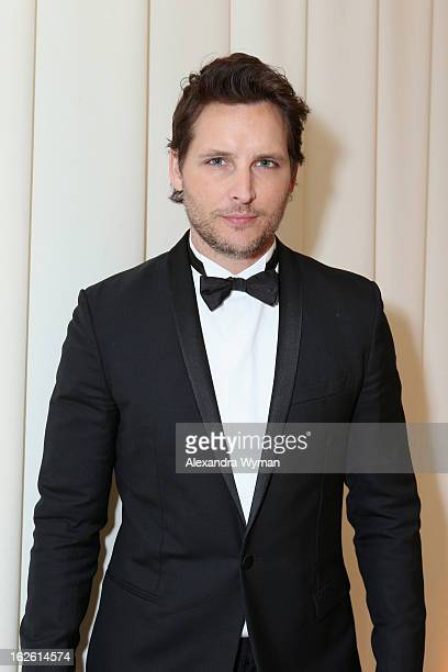 Actor Peter Facinelli attends Grey Goose at 21st Annual Elton John AIDS Foundation Academy Awards Viewing Party at West Hollywood Park on February 24...