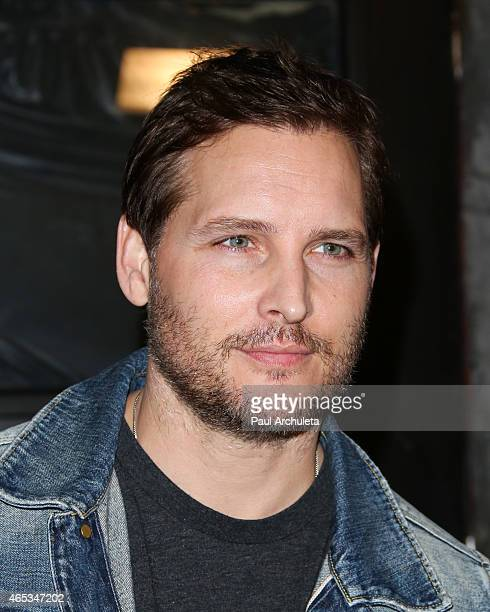 Actor Peter Facinelli attends the 2nd annual Hollywood Heals spotlight on Tourette Syndrome at House of Blues Sunset Strip on March 5 2015 in West...