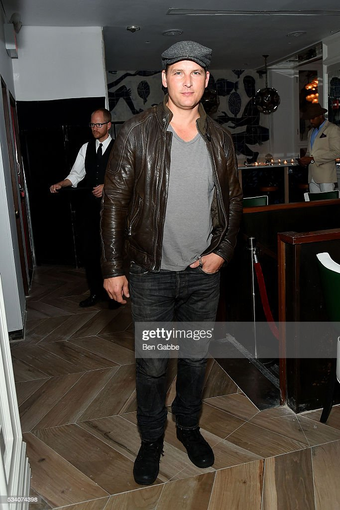 Actor Peter Facinelli attends The Cinema Society and Chopard sreening of Oscilloscope's 'ma ma' After Party at Cafe Medi on May 24, 2016 in New York City.