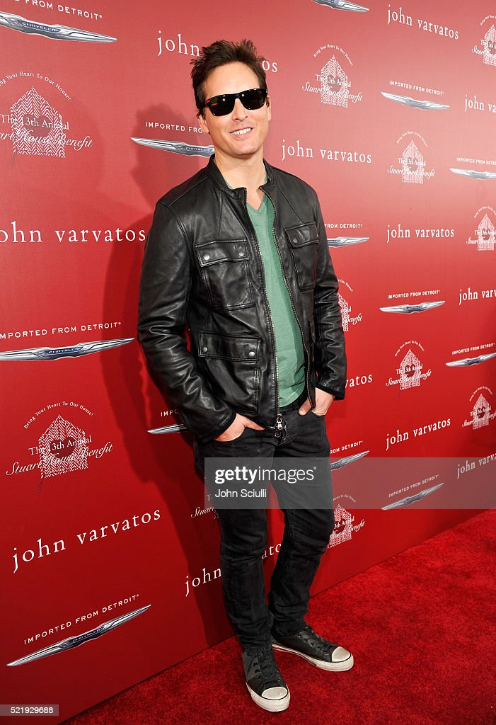 Actor Peter Facinelli attends the John Varvatos 13th Annual Stuart House benefit presented by Chrysler with Kids' Tent by Hasbro Studios at John Varvatos Boutique on April 17, 2016 in West Hollywood, California.