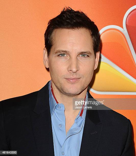 Actor Peter Facinelli attends the NBCUniversal 2015 press tour at The Langham Huntington Hotel and Spa on January 16 2015 in Pasadena California