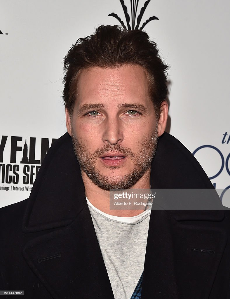 Actor Peter Facinelli attends the premiere of Electric Entertainment's 'The Book Of Love' at The Grove on January 10, 2017 in Los Angeles, California.
