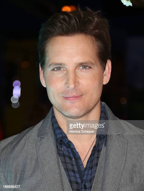 Actor Peter Facinelli attends the Twilight Forever Fan Experience Exhibit launch at Planet Hollywood Times Square on November 4 2013 in New York City