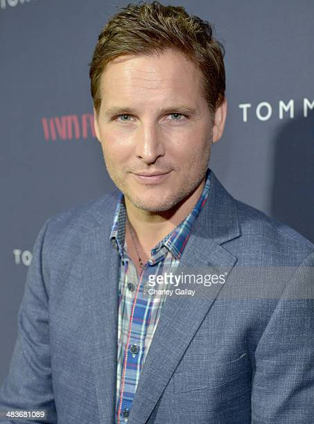 Actor Peter Facinelli attends the Zooey Deschanel for Tommy Hilfiger Collection launch event at The London Hotel on April 9 2014 in West Hollywood...