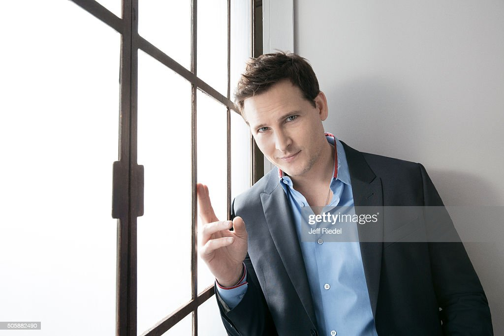 Actor Peter Facinelli is photographed for TV Guide Magazine on January 16, 2015 in Pasadena, California.