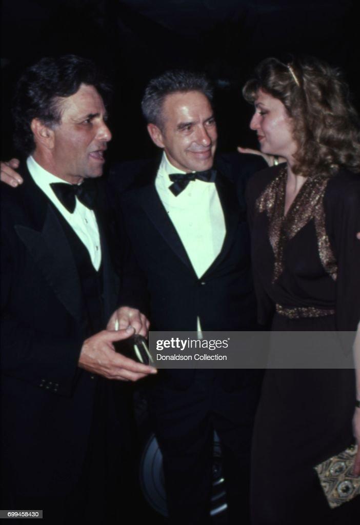 Shera Danese, John Cassavetes And Peter Falk Attend an Event : News Photo