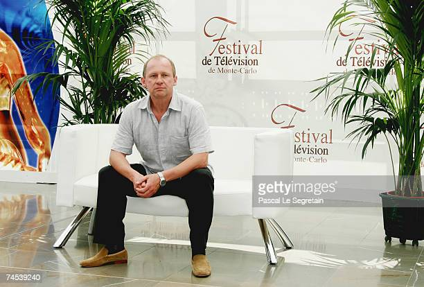 Actor Peter Firth attends a photocall promoting the television serie 'Spooks' on the first day of the 2007 Monte Carlo Television Festival held at...