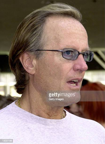 Actor Peter Fonda arrives at the premiere of the movie 'Thomas and The Magic Railroad' July 22 2000 in Los Angeles