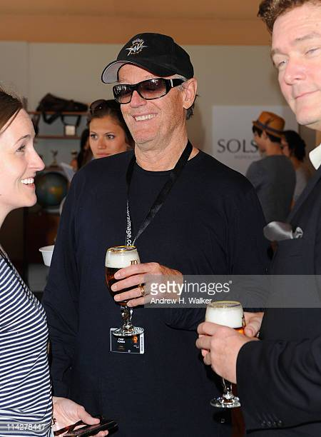 Actor Peter Fonda visits the Variety Studio at the Stella Artois Lounge during the 64th Annual Cannes Film Festival at Carlton Beach on May 17, 2011...