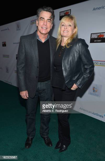 Actor Peter Gallagher and production manager Paula Wildash attend the 8th Annual Oscar Wilde Honoring The Irish In Film PreAcademy Awards Event at...