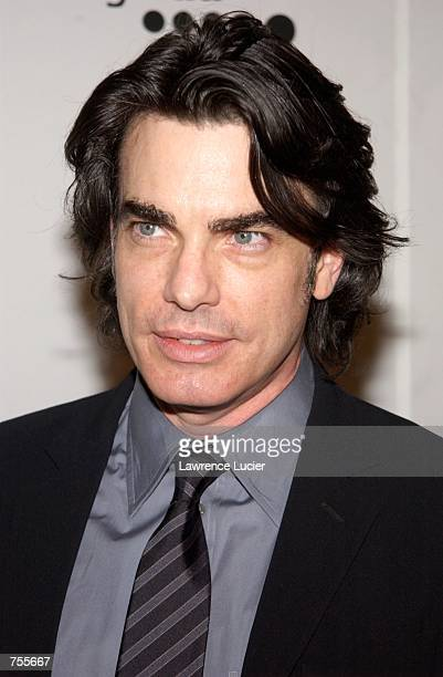 Actor Peter Gallagher arrives at the 13th annual GLAAD Media Awards April 1 in New York City The awards honor individuals and projects in the media...