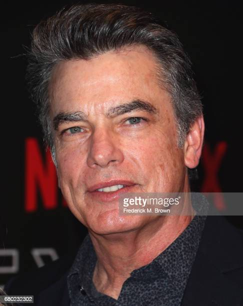 Actor Peter Gallagher arrives at the Netflix FYSee Kick Off Event at Netflix FYSee Space on May 7 2017 in Beverly Hills California