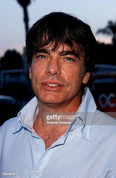 Actor Peter Gallagher arrives at The OC kickoff party at the Viceroy on July 29 2003 in Santa Monica California