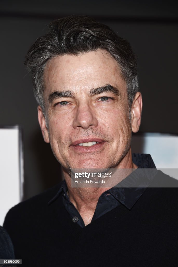 Actor Peter Gallagher arrives at the premiere of Sony Pictures Classics' 'The Seagull' at the Writers Guild Theater on May 1, 2018 in Beverly Hills, California.
