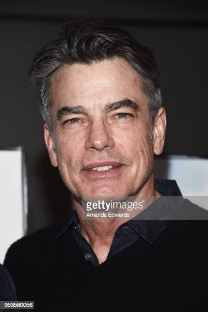 Actor Peter Gallagher arrives at the premiere of Sony Pictures Classics' 'The Seagull' at the Writers Guild Theater on May 1 2018 in Beverly Hills...
