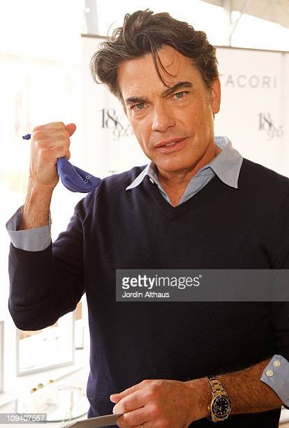 Actor Peter Gallagher attends Kari Feinstein's Academy Awards Style Lounge at Montage Beverly Hills on February 24 2011 in Beverly Hills California