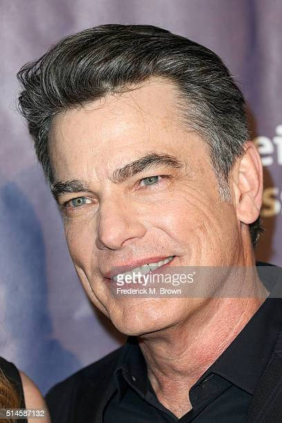 Actor Peter Gallagher attends the 24th and final 'A Night at Sardi's' to benefit the Alzheimer's Association at The Beverly Hilton Hotel on March 9...