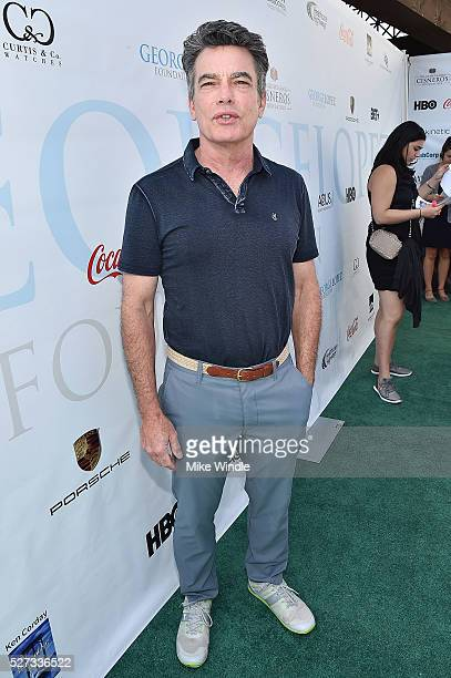Actor Peter Gallagher attends the 9th Annual George Lopez Celebrity Golf Classic to benefit The George Lopez Foundation at Lakeside Golf Club on May...