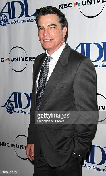 Actor Peter Gallagher attends the AntiDefamation League Awards Dinner at the Beverly Wilshire Hotel on October 7 2010 in Beverly Hills California