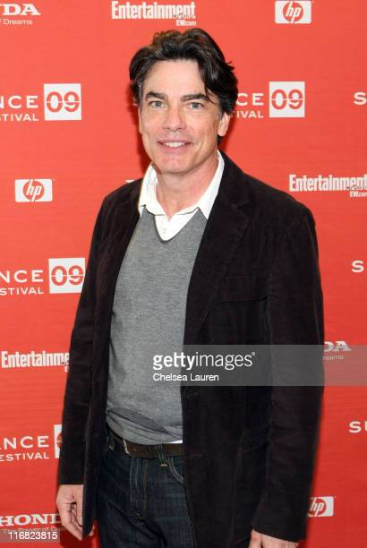 Actor Peter Gallagher attends the premiere of Adam during the 2009 Sundance Film Festival at Eccles Theatre on January 19 2009 in Park City Utah
