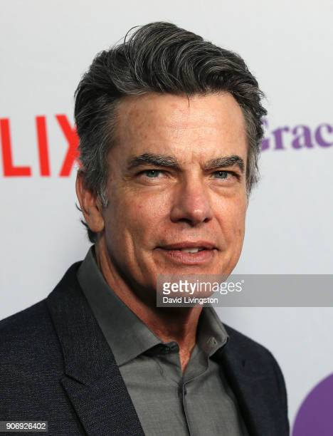 Actor Peter Gallagher attends the premiere of Netflix's 'Grace and Frankie' Season 4 at ArcLight Cinemas on January 18 2018 in Culver City California