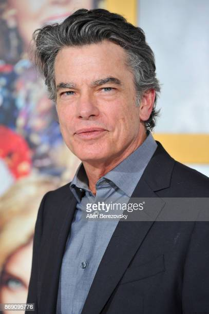 Actor Peter Gallagher attends the premiere of STX Entertainment's A Bad Moms Christmas at Regency Village Theatre on October 30 2017 in Westwood...