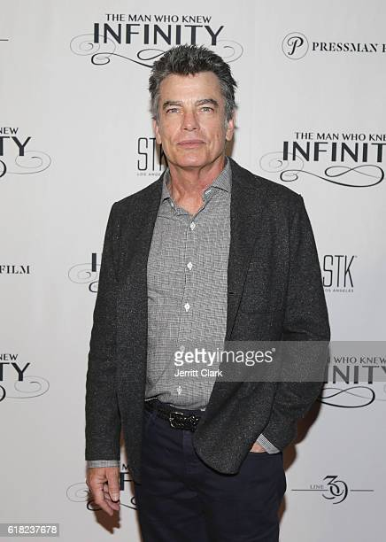 Actor Peter Gallagher attends the Screening Of IFC Films' The Man Who Knew Infinity Dinner Party at iPic Theaters on October 25 2016 in Los Angeles...