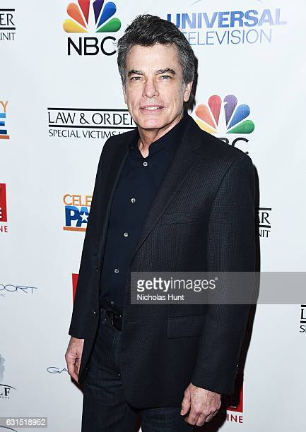 Actor Peter Gallagher attends the TV Guide Celebrates Mariska Hargitay at Gansevoort Park Avenue on January 11 2017 in New York City