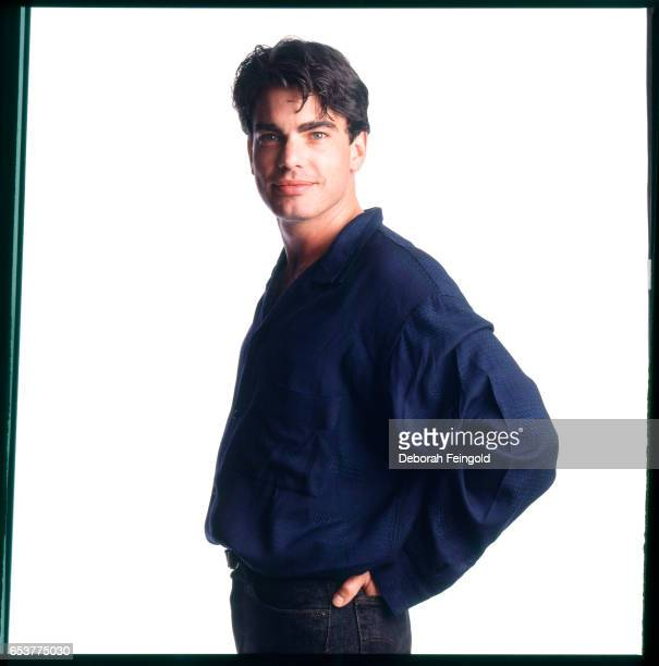 Actor Peter Gallagher poses for a portrait in 1987 in New York City New York