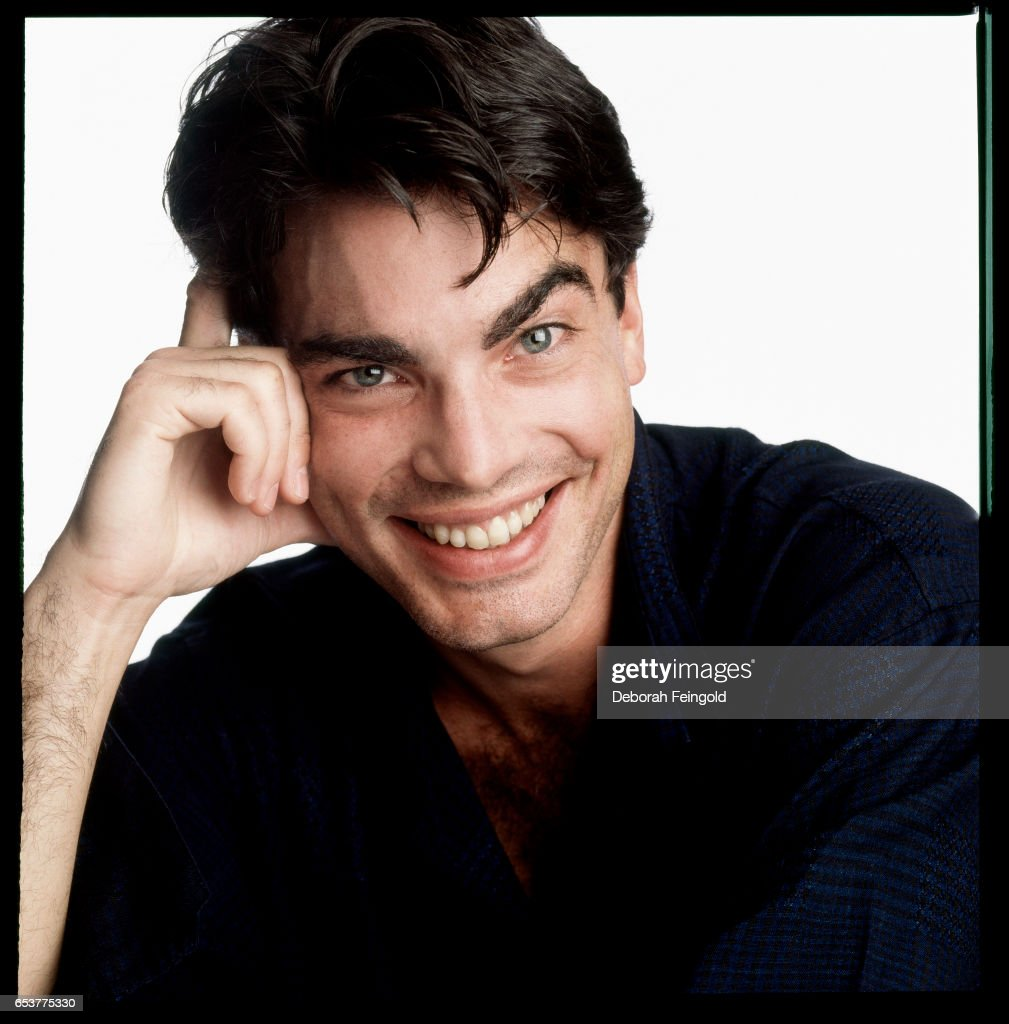 Actor Peter Gallagher posing for a portrait in 1987 in New York City, New York.