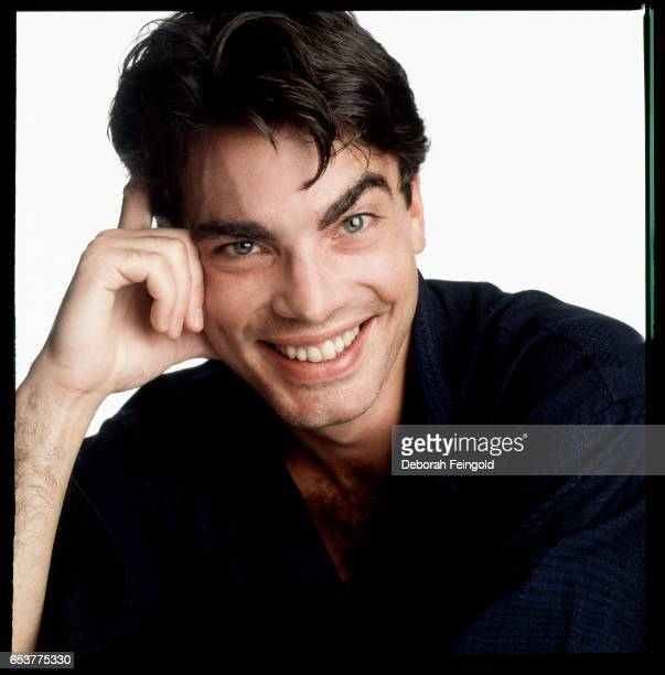 Actor Peter Gallagher posing for a portrait in 1987 in New York City New York