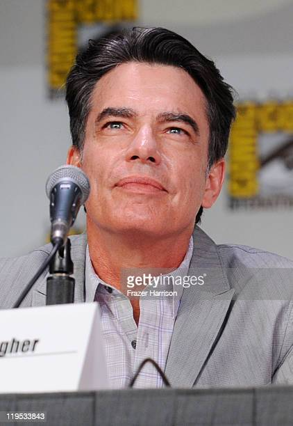 Actor Peter Gallagher speaks at Covert Affairs Panel during ComicCon 2011 on July 21 2011 in San Diego California