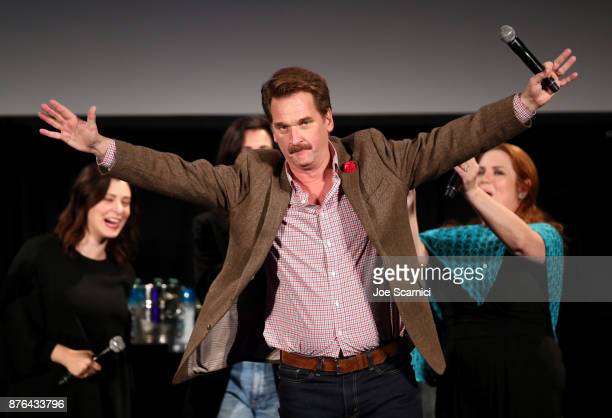 Actor Peter Gardner participates in the 'Crazy ExGirlfriend 100th Song Celebration SingaLong' during Vulture Festival LA presented by ATT at...