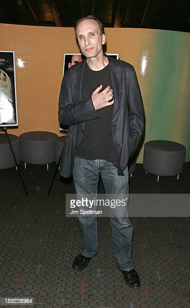 Actor Peter Greene attends the 'Keep Your Enemies Closer Checkmate' screening at the School of Visual Arts Theater on October 1 2012 in New York City