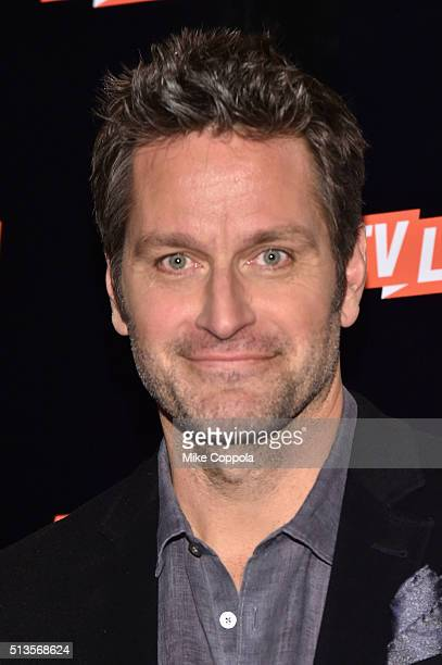 Actor Peter Hermann attends the 2016 Viacom Kids and Family Group Upfront on March 3 2016 in New York City
