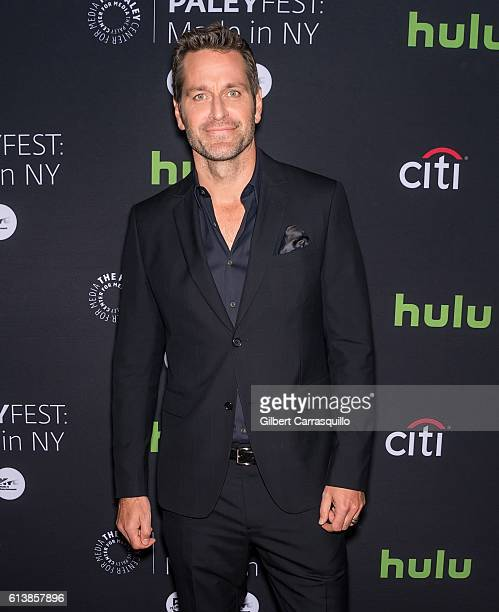 Actor Peter Hermann attends the PaleyFest New York 2016 screening of 'Younger' at The Paley Center for Media on October 10 2016 in New York City