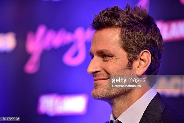 Actor Peter Hermann attends the Younger Season 2 and Teachers Series Premiere at The NoMad Hotel on January 12 2016 in New York City