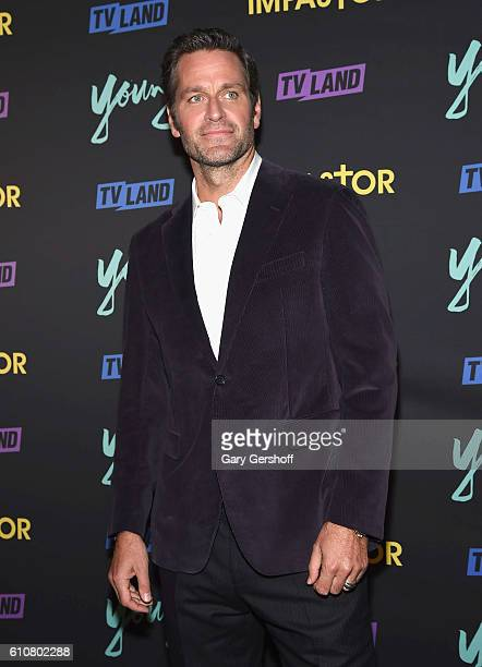 Actor Peter Hermann attends the Younger Season 3 and Impastor Season 2 New York premiere at Vandal on September 27 2016 in New York City