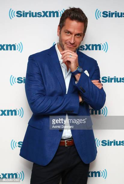 Actor Peter Hermann from the cast of YOUNGER poses for photos before SiriusXM's Town Hall on June 27 2017 in New York City