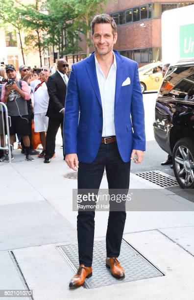 Actor Peter Hermann is seen walking in Soho on June 27 2017 in New York City