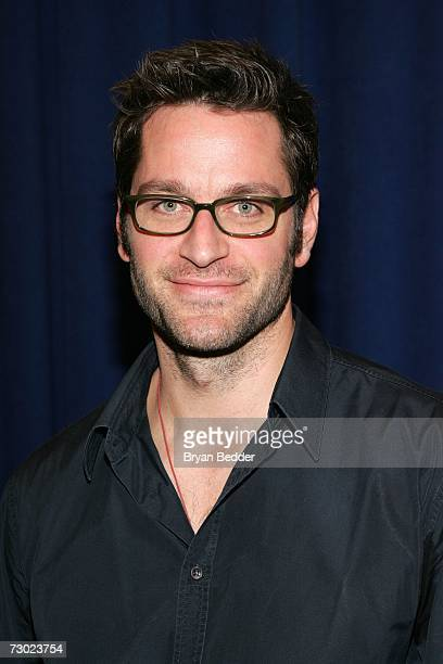 Actor Peter Hermann poses for photos before a rehearsal for Broadways Talk Radio on January 17 2007 in New York City