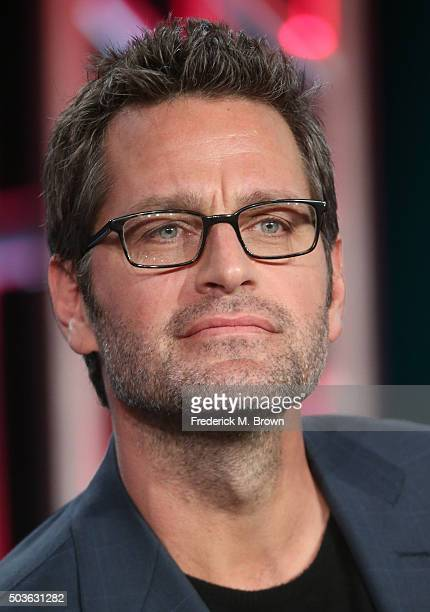 Actor Peter Hermann speaks onstage during the TV LAND Younger panel as part of the Viacom portion of This is Cable 2016 Television Critics...