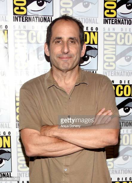 Actor Peter Jacobson at the 'Colony' press line during ComicCon International 2017 at Hilton Bayfront on July 20 2017 in San Diego California