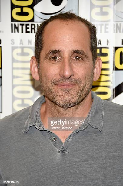 Actor Peter Jacobson attends the 'Colony' press line during ComicCon International 2016 at Hilton Bayfront on July 21 2016 in San Diego California